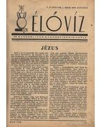 Élővíz folyóirat V.-VI. évfolyam, 1949-1950