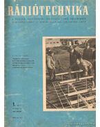 Rádiótechnika 1960. (teljes évfolyam)