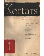 Kortárs irodalmi és kritikai folyóirat 1958/ II. évfolyam 1-6. szám és 6-12 szám. (I-II. kötetben, hiányos)