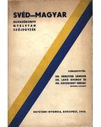 Svéd-Magyar olvasókönyv, nyelvtan, szójegyzék