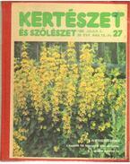 Kertészet és szőlészet 1990. 39. évfolyam 27-52. szám