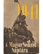 A Magyar Nemzet Naptára 1941.