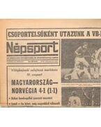Népsport 1981. November (teljes)