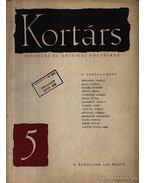 Kortárs irodalmi és kritikai folyóirat 1961 V. évf. 5. szám