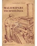 Malomipari technológia