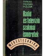 Rádió és televízió szakmai ismeretek