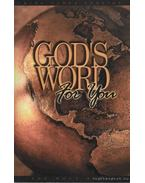 God's word for you - The Holy Bible