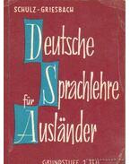 Deeutsche Sprachlehre für Auslander 1.