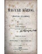 Magyar Közjog (Magyar Államjog)