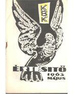 Kisgrafika értesítő 1963. május