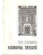 Kisgrafika értesítő 1971 december