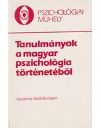 Tanulmányok a magyar pszichológia történetéből - Kiss György