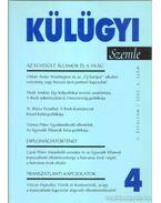 Külügyi szemle II. évf.  2003. 4. - Kiss J. László