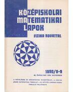 Középiskolai matematikai lapok 1990/8-9. november