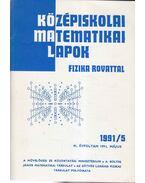 Középiskolai matematikai lapok 1991/5. május
