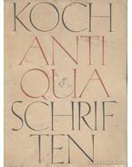 Antiqua-Schriften