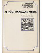 A régi magyar vers - Komlovszki Tibor