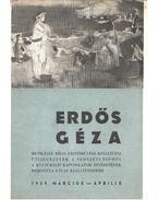 Erdős Géza festőművész kiállítása - Kontha Sándor
