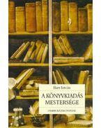 A könyvkiadás mestersége