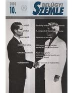 Belügyi Szemle 2002/10. - Korinek László