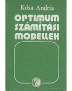 Optimumszámítási modellek - Kósa András