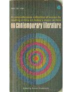 On contemporary literature - Kostelanetz, Richard (szerk.)