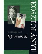 Japán versek - Kosztolányi Dezső