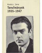 Tanulmányok - Kovács Imre