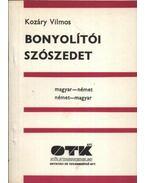 Bonyolítói szószedet - Magyar-német, német-magyar - Kozáry Vilmos
