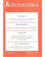 Külpolitika VI. évf. 3-4 szám 2000. ősz-tél