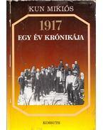 1917 egy év krónikája - Kun Miklós