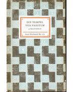 Die Tempel von Paestum - Lamb, Carl, Curtius, Ludwig