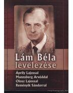 Lám Béla levelezése