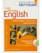 Last Minute English - Középszint szóbeli DVD-melléklettel