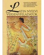 Latin nyelvi versenyfeladatok