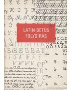 Latin betűs folyóírás