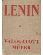 Válogatott művek II. kötet - Lenin