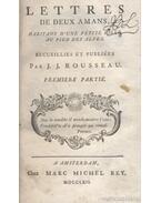 Julie, ou la nouvelle Heloise 1-3. kötet (nem teljes)