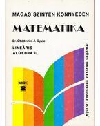 Lineáris algebra II.