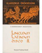Linguam Latinam disco II. + Tanulói és szülői segédlet a Linguam Latinam disco II. c. tankönyvhöz