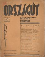 Országút 1936. II. évfolyam 6-7. - Lipták László dr.