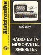 Rádió- és TV-műsorvételi ismeretek - M. Cesky