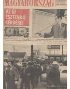 Magyarország 1975. XII. évfolyam (hiányzik a 35. szám)