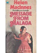 Message from Málaga - MacInnes, Helen