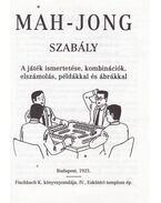 Mah-Jong (Madzsong) szabály