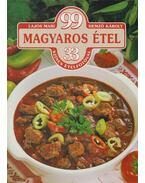 99 magyaros étel 33 színes ételfotóval