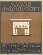 Magyar Iparművészet XXXIV. évf. 1931 9-10. szám