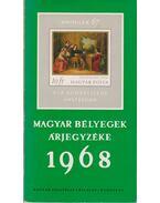 Magyar bélyegek árjegyzéke 1968
