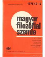 Magyar filozófiai szemle 1975/5-6