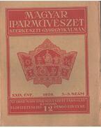 Magyar iparművészet XXIX. évf. 3-5. szám